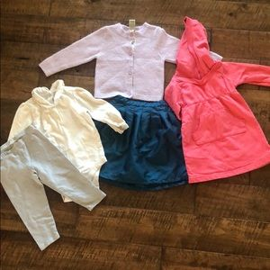 Lot size 12-18 month